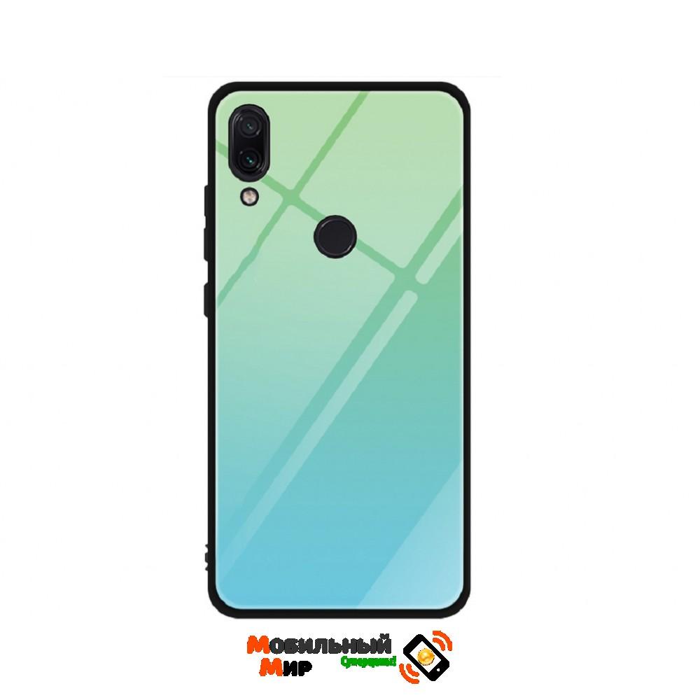 Силиконовая накладка Gradient Glass для Xiaomi Redmi 7 Green