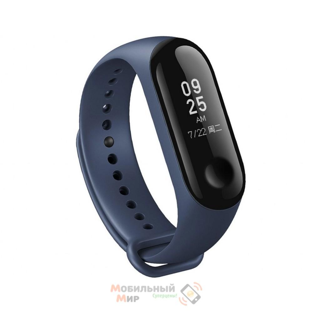 Ремешок для фитнес-браслета Xiaomi Mi Band 3 Blue