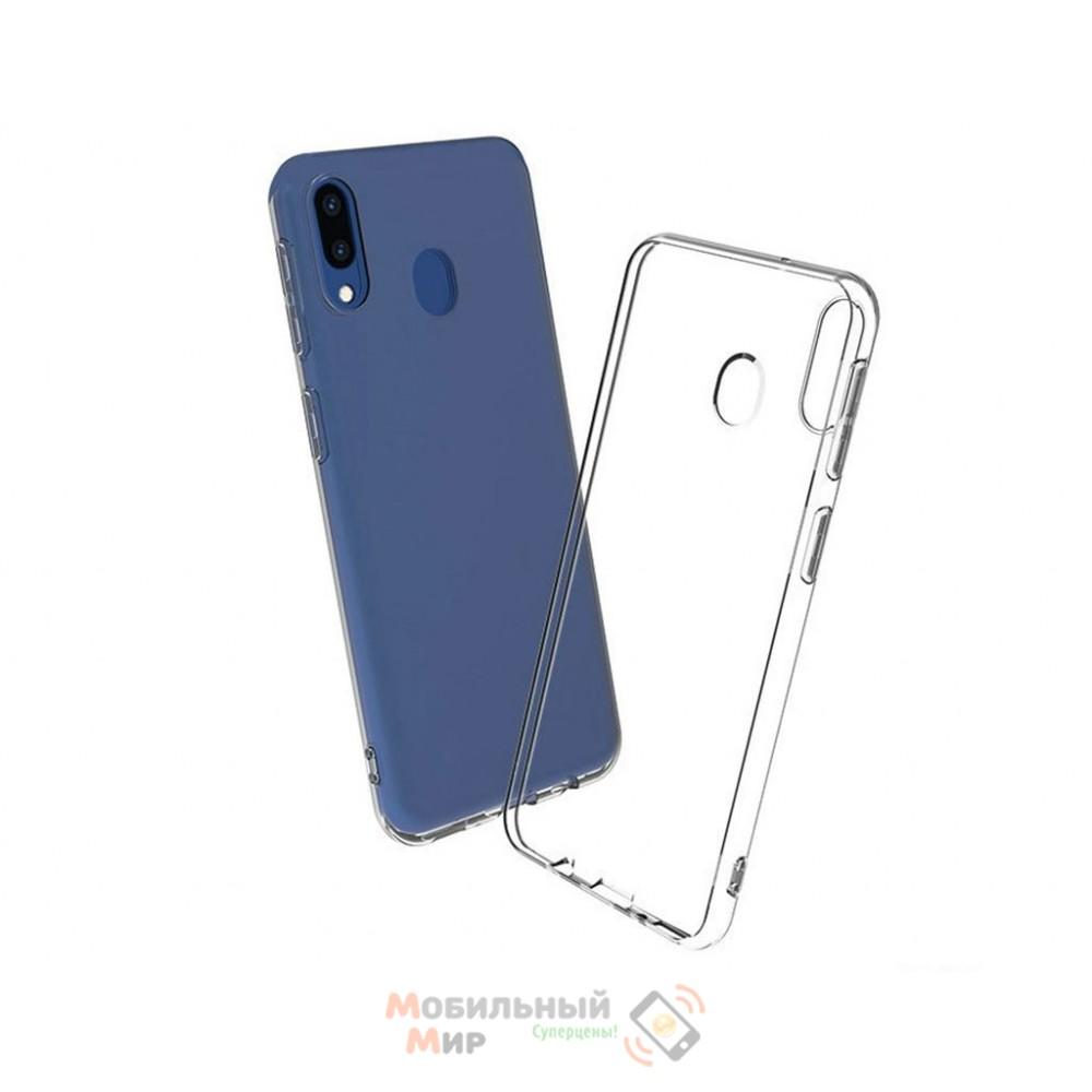 Силиконовая накладка WS для Samsung A40 2019 A405 Transparent