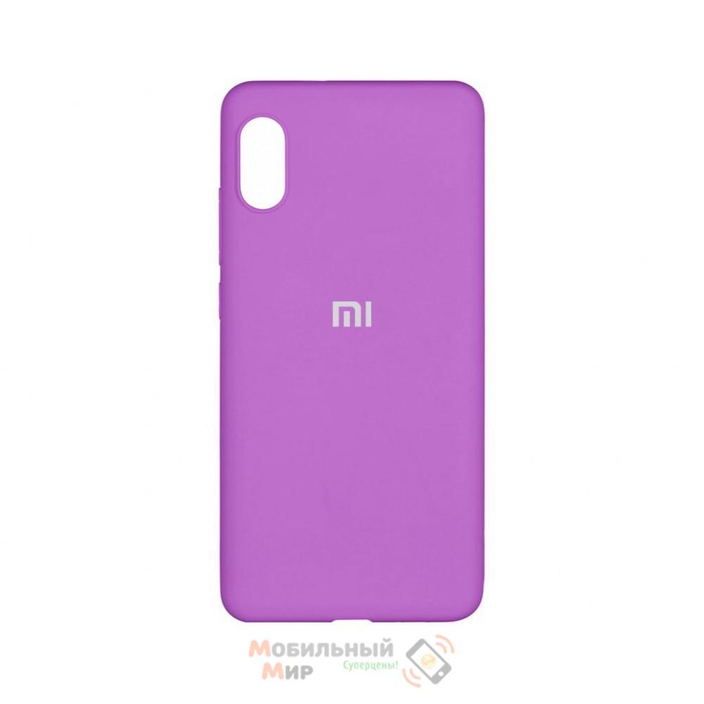 Силиконовая накладка Silicone Case для Xiaomi Redmi 7A Violet