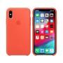 Силиконовая накладка Silicone Case для iPhone XS Max Orange