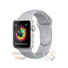 Смарт-часы Apple Watch Series 3 42mm Silver Aluminium Case with White Sport Band (MTF22)
