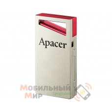 Флеш-память USB Apacer AH112 64GB Red (AP64GAH112R-1)