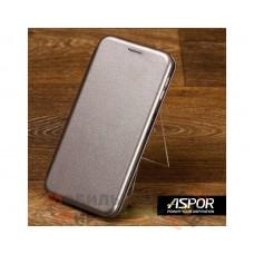 Чехол-книжка Aspor для Xiaomi Redmi 7 Leather Graphite