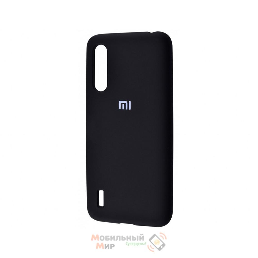 Силиконовая накладка Silicone Case для Xiaomi Redmi Mi A3 Black