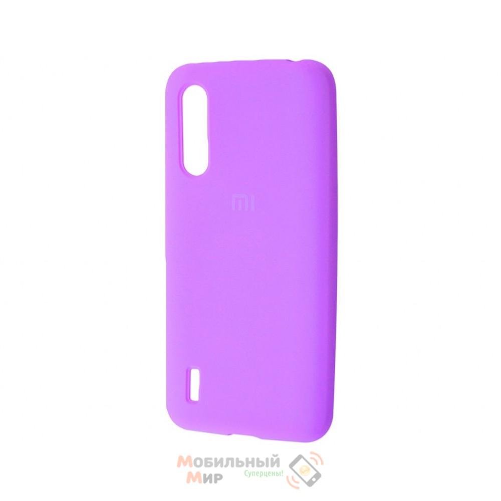 Силиконовая накладка Silicone Case для Xiaomi Redmi Mi A3 Violet