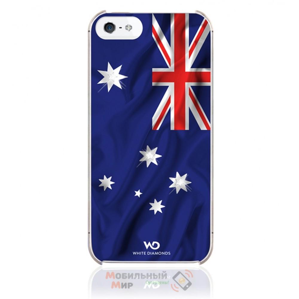 Чехол White Diamonds iPhone 5/5S Flag Australia (1210FLA09)