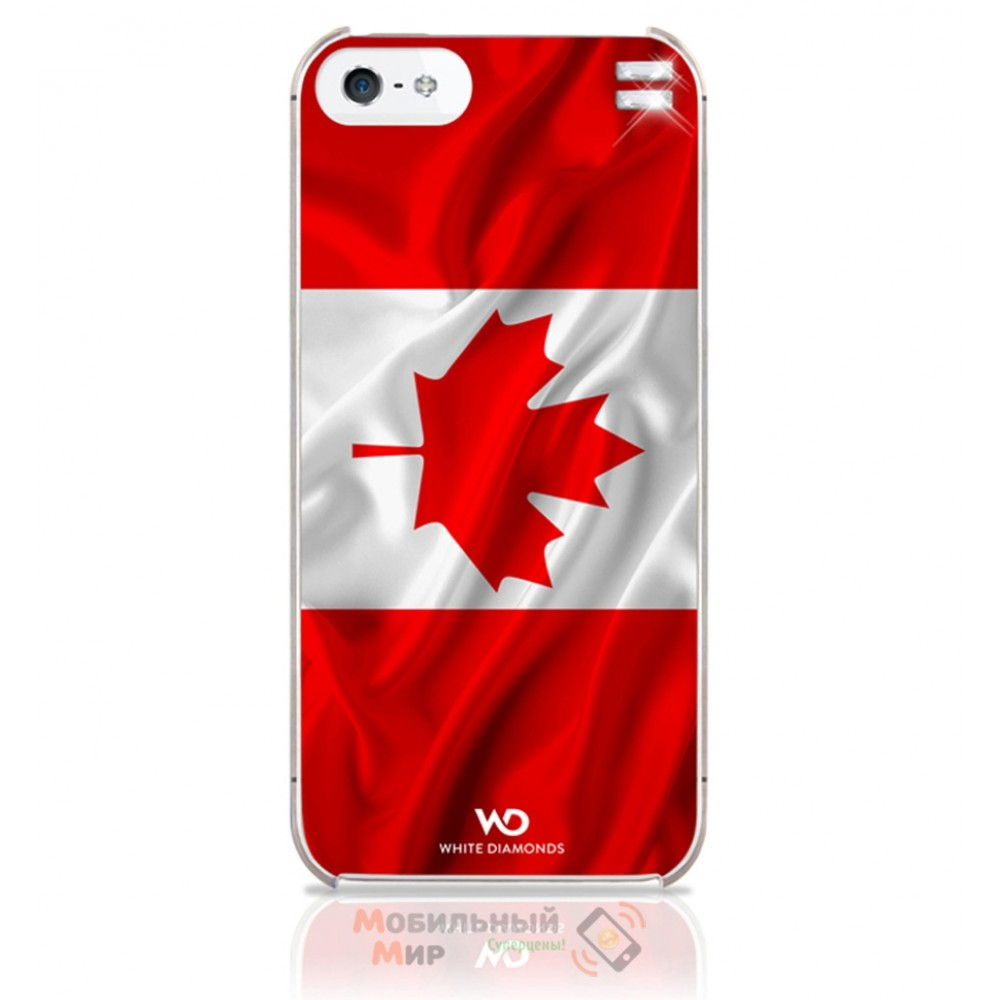 Чехол White Diamonds iPhone 5/5S Flag Canada (1210FLA08)