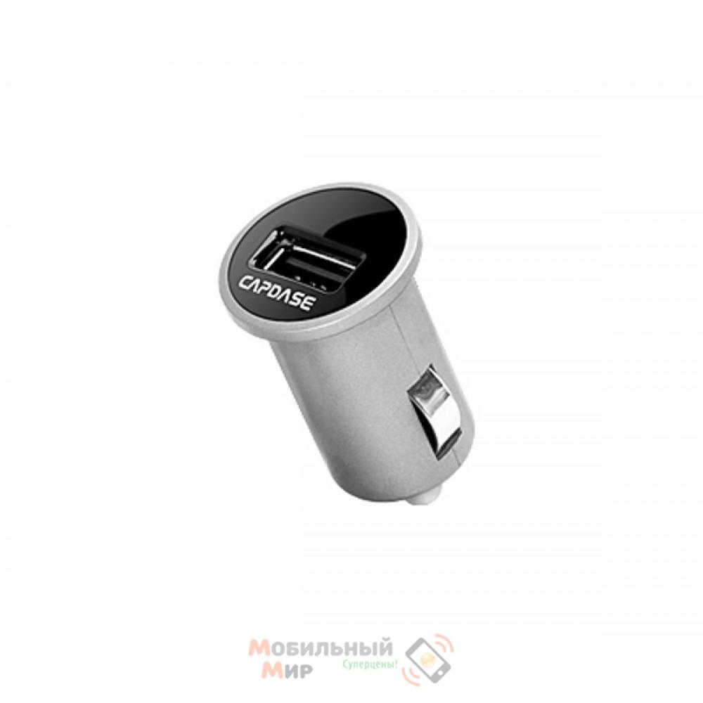 Capdase USB Car Charger Pico Plus Titanium/Black (2.1 A) for iPhone/iPod/iPad mini/iPad (CACB-PPT1)