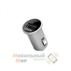 Capdase USB Car Charger Pico Plus Titanium/Black (2.1 A) for iPhone/iPod/iPad mini/iPad (CACB-PPT1)