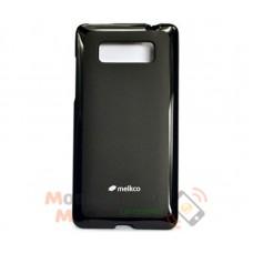 Чехол-накладка Melkco Poly Jacket for HTC Desire 600 Black