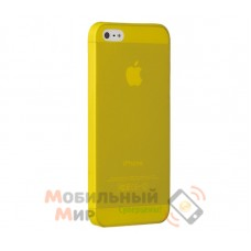 Чехол Ozaki O!coat 0.3 Jelly iPhone 5/5S Yellow (OC533YL)