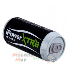 Momax iPower XTRA power bank 6600 mAh 2.1 A, black [IP33D]