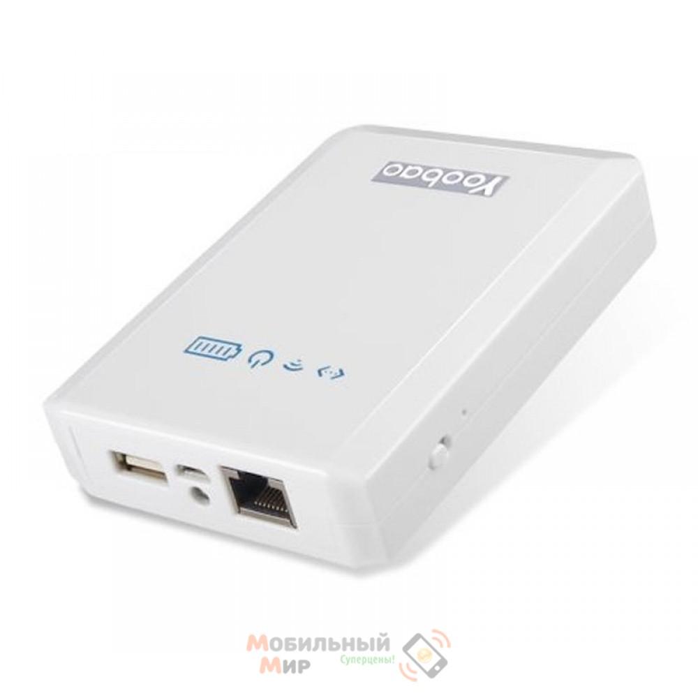 Yoobao Power Bank + Wi-Fi10400 mAh Mytour YB-658, white [PBYB658-WT]