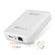Yoobao Power Bank + Wi-Fi10400 mAh Mytour YB-658, white [PBYB658-WT]