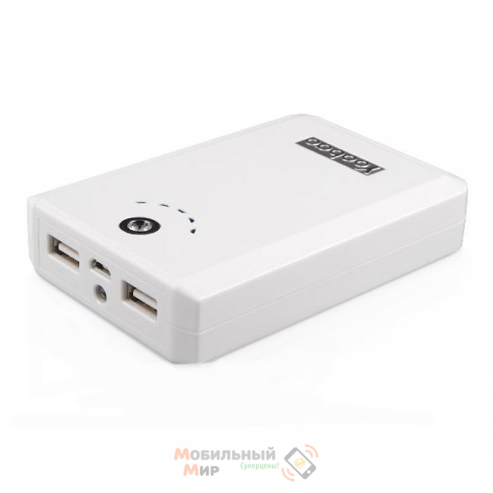 Yoobao Power Bank 10400 mAh Magic Box YB-645D, white [PBYB645D-WT]
