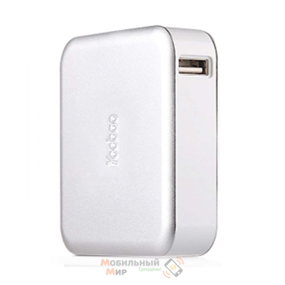 Yoobao Power Bank 10400 mAh Magic Cube II YB-649, silver [PBYB649-SV]