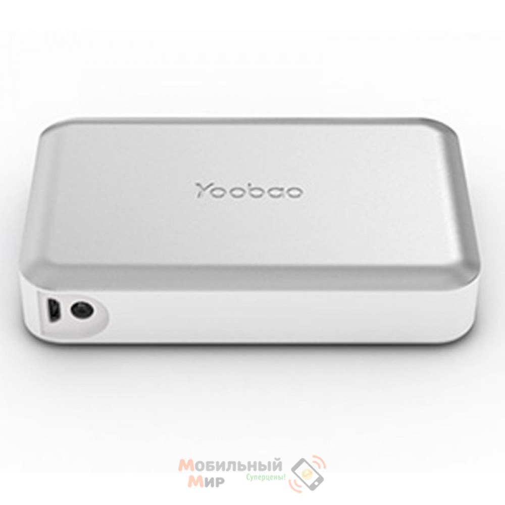 Yoobao Power Bank 13000 mAh Magic Cube II YB-659, silver [PBYB659-SV]