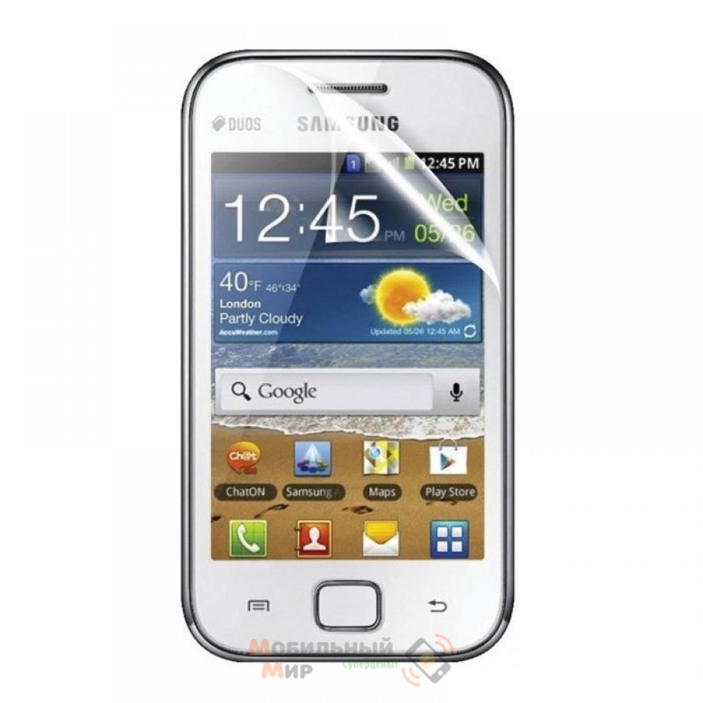 Защитная пленка для Samsung S6802 Hollo Clear