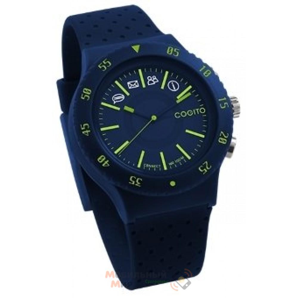 Смарт - часы COGITO Pop Blue Electric
