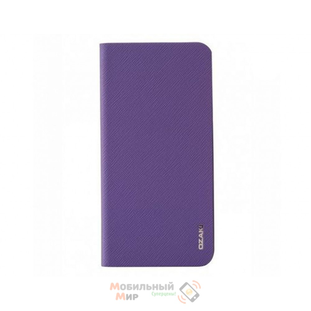 Чехол-книжка OZAKI O!coat 0.3+ Folio iPhone 6 Light Purple