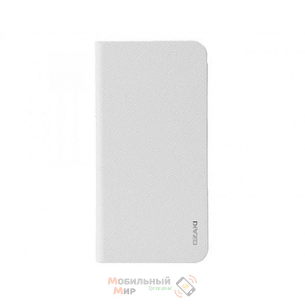 Чехол-книжка OZAKI O!coat 0.3+ Folio iPhone 6 Light White