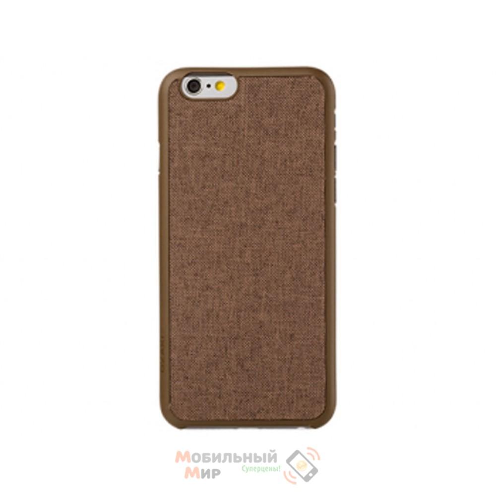 Чехол OZAKI O!coat 0.3+ Canvas iPhone 6 Brown