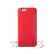 Чехол OZAKI O!coat 0.3+ Pocket iPhone 6 Red