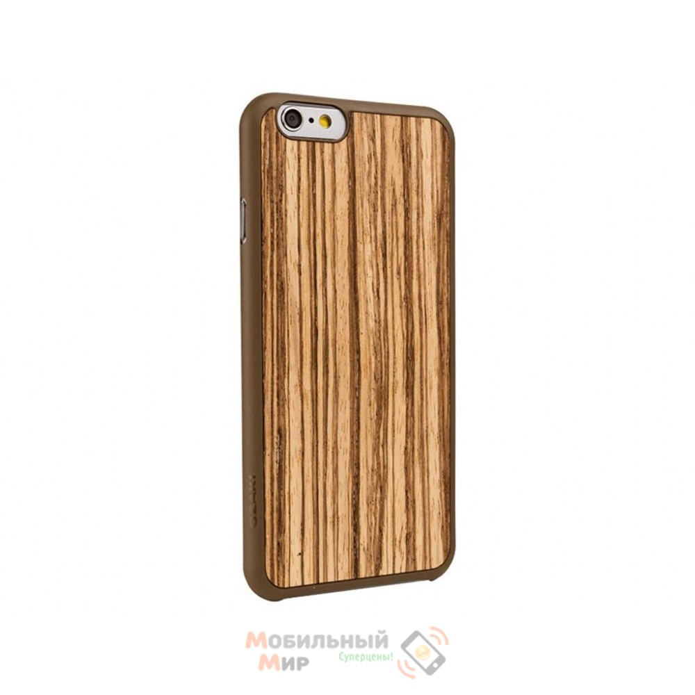 Чехол Ozaki O!coat 0.3+ Wood iPhone 6 Zebrano (OC556ZB)