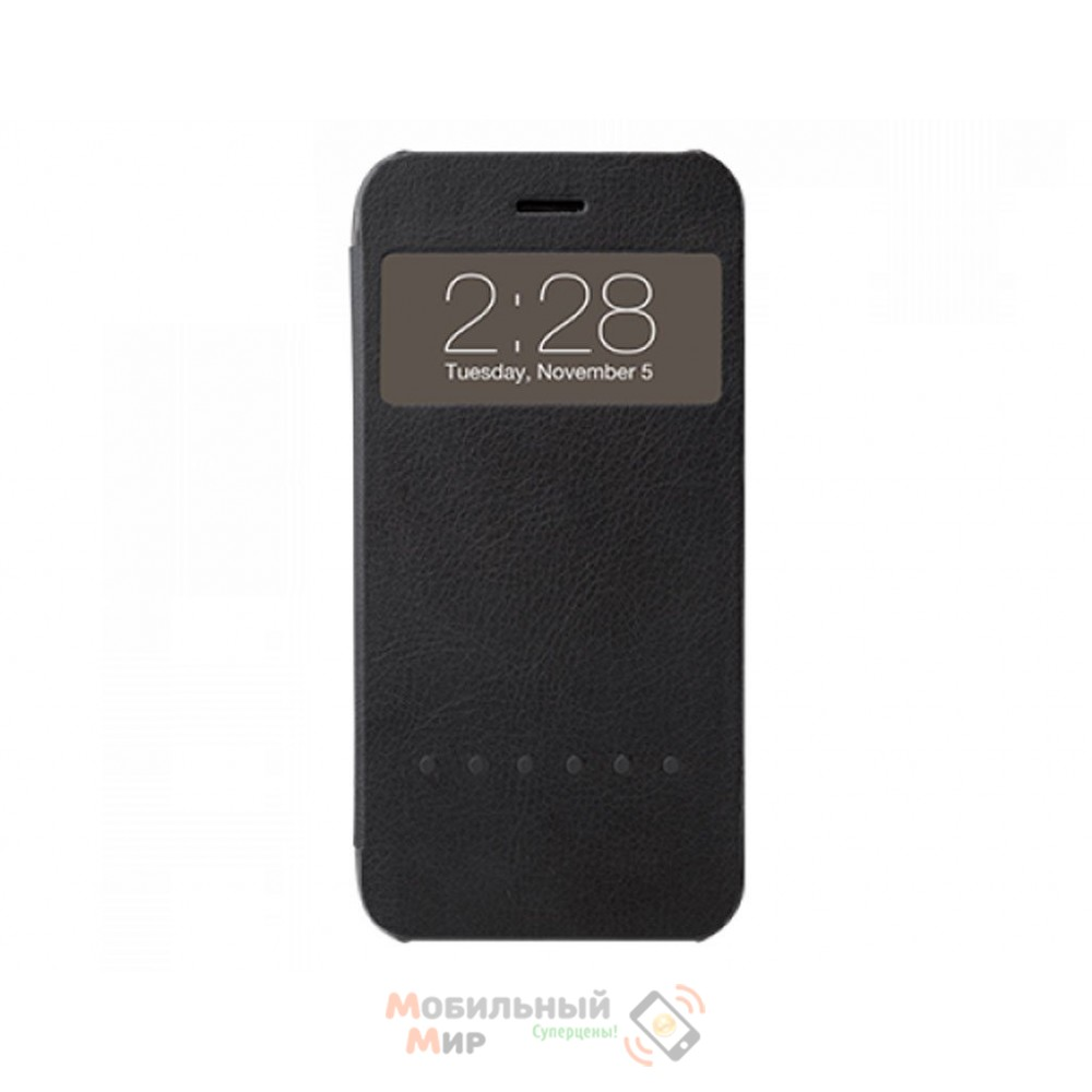 Чехол Ozaki O!coat Hel-ooo iPhone 6 Black (OC579BK)