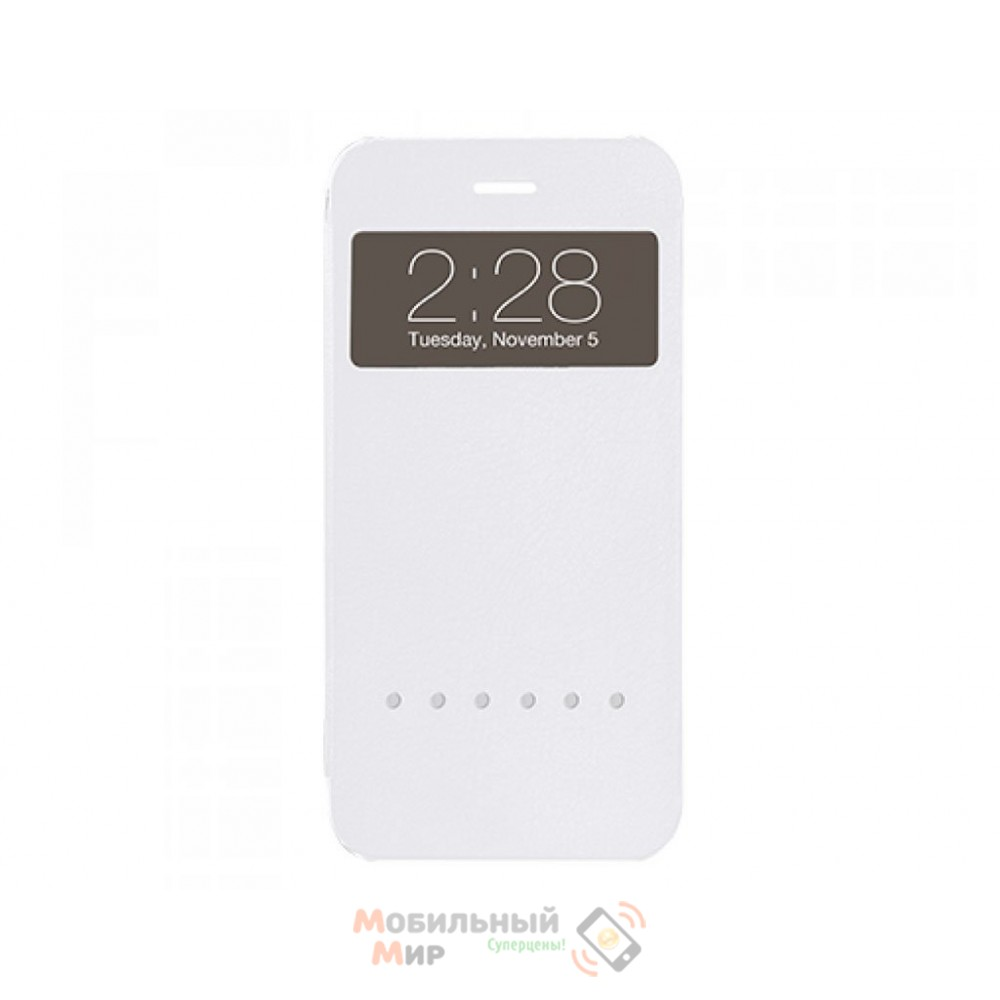 Чехол Ozaki O!coat Hel-ooo iPhone 6 White (OC579WH)