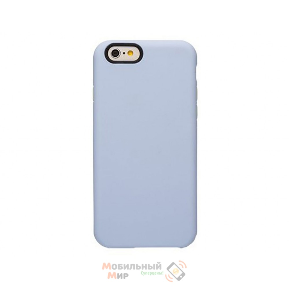 Чехол OZAKI O!coat Macoron iPhone 6 Babyblue