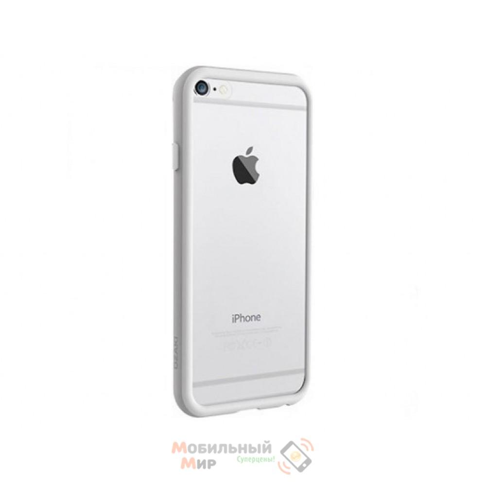 Бампер OZAKI O!coat Shock band iPhone 6 White