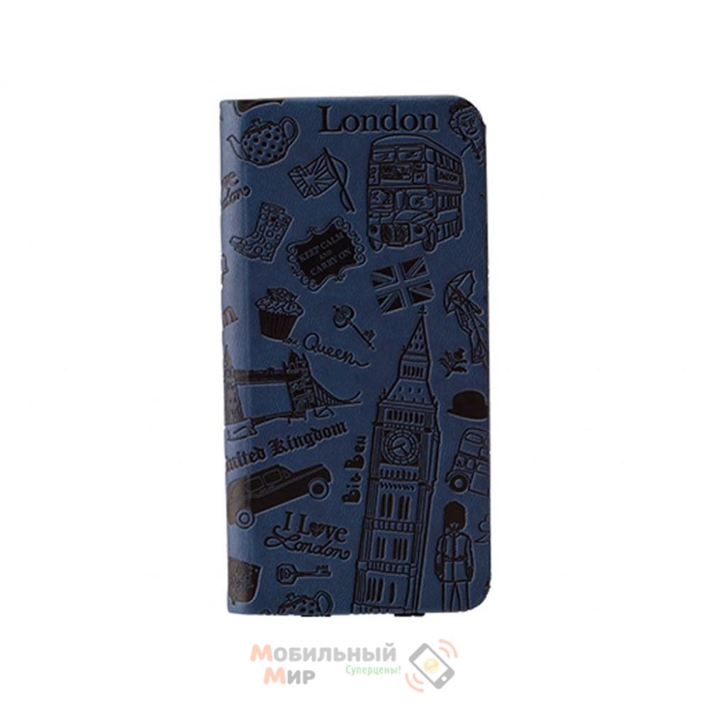 Чехол-книжка OZAKI O!coat Travel iPhone 6 London