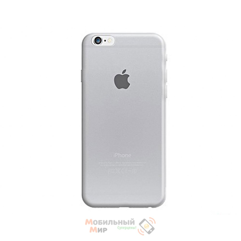 Чехол OZAKI O!coat Hard Ctystal iPhone 6 Plus Transparent