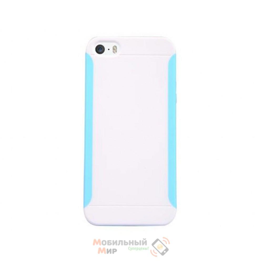 Чехол Baseus Skinny Case for iPhone 5 White (JKAPIPH5-02)