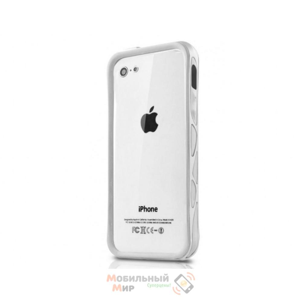 Чехол ITSkins Venum iPhone 5/5S White (APH5-VENUM-WITE)