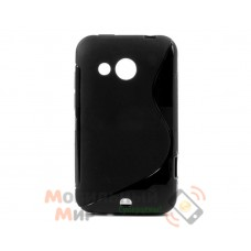 Чехол-накладка TPU cover case for HTC Desire 200 Black