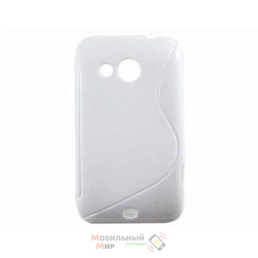 Чехол-накладка TPU cover case for HTC Desire 200 White