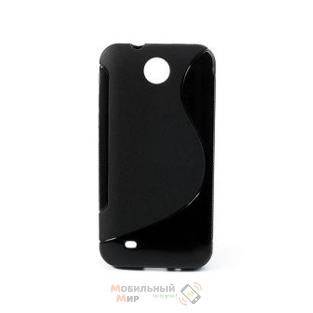 Чехол-накладка TPU cover case for HTC Desire 300 Black