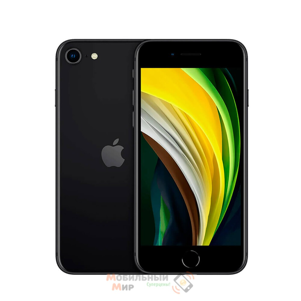 СмартфонApple iPhone SE 2020 128GB Black