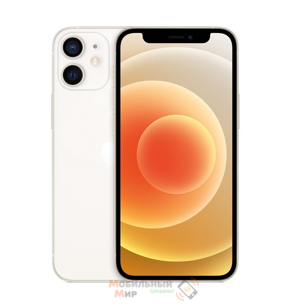 СмартфонApple iPhone 12 64GB Dual Sim White