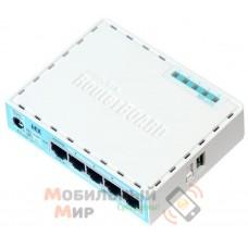 Маршрутизатор MikroTik hEX 5xGE (RB750GR3)
