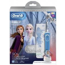 Зубная электрощетка Braun Oral-B D100.413.2KX Frozen II типа 3710 (3+)