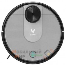 Робот-пылесос с влажной уборкой Xiaomi Viomi V2 Pro Vacuum Cleaner (V-RVCLM21B) Black