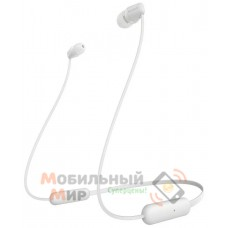 Наушники Bluetooth Sony WI-C200 White (WIC200W.CE7)