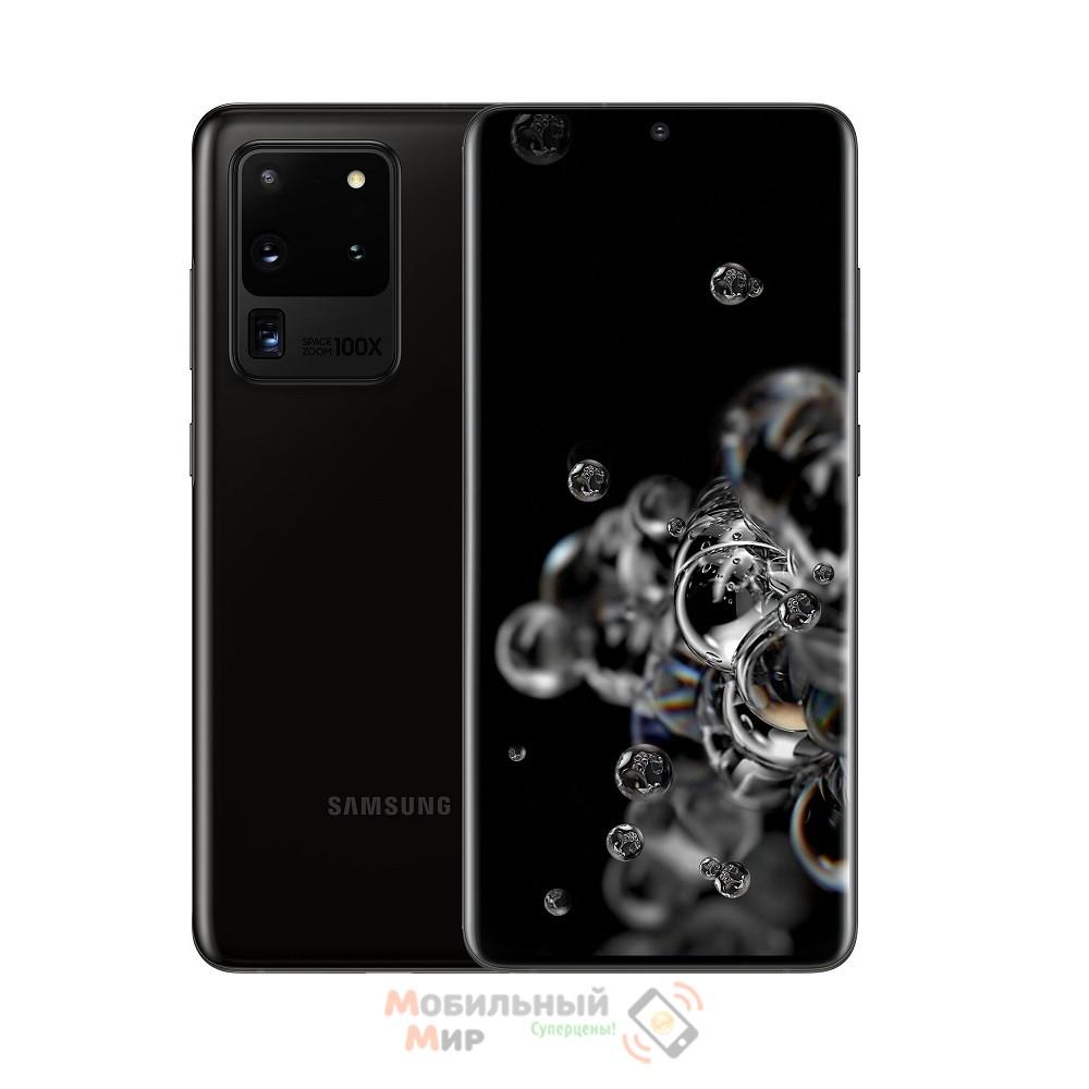 Смартфон Samsung Galaxy S20 Ultra 2020 G988B 12/128GB Cosmic Black (SM-G988BZKDSEK)