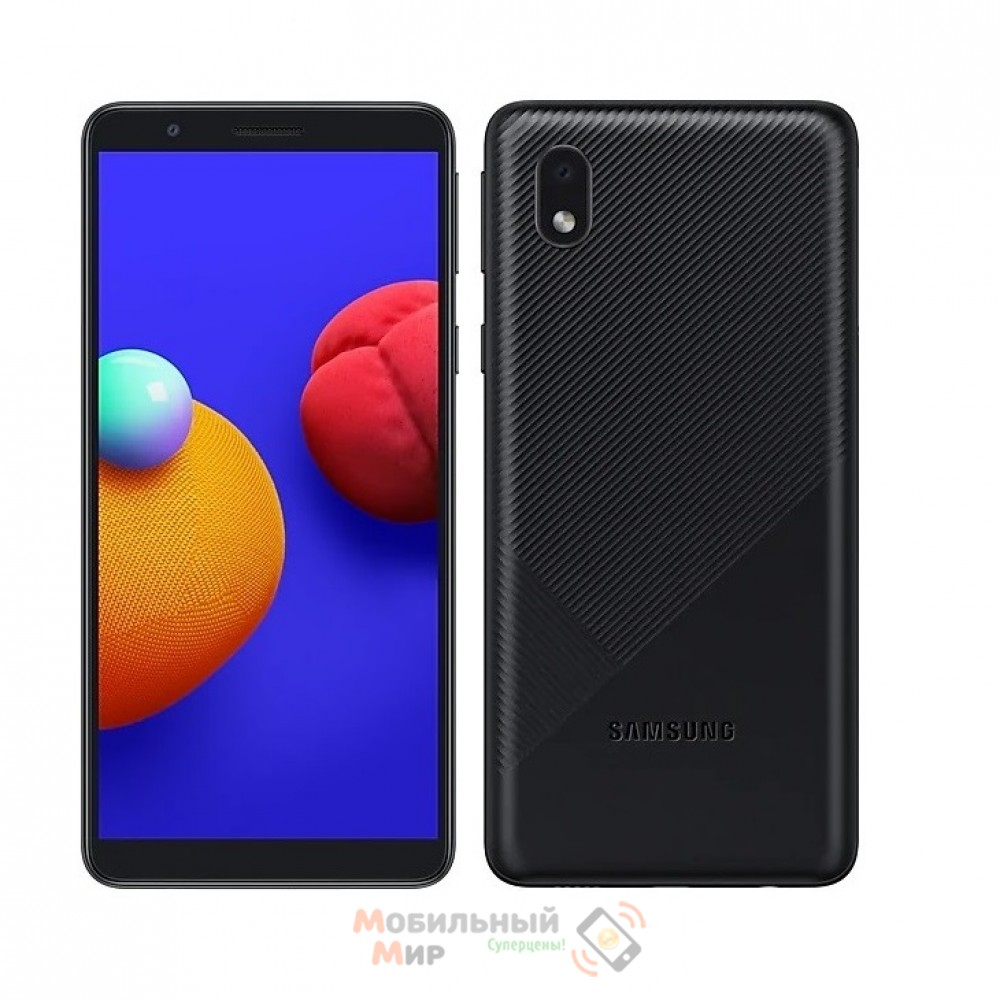 Смартфон Samsung Galaxy A01 Core 2020 A013F 1/16GB Black (SM-A013FZKDSEK)