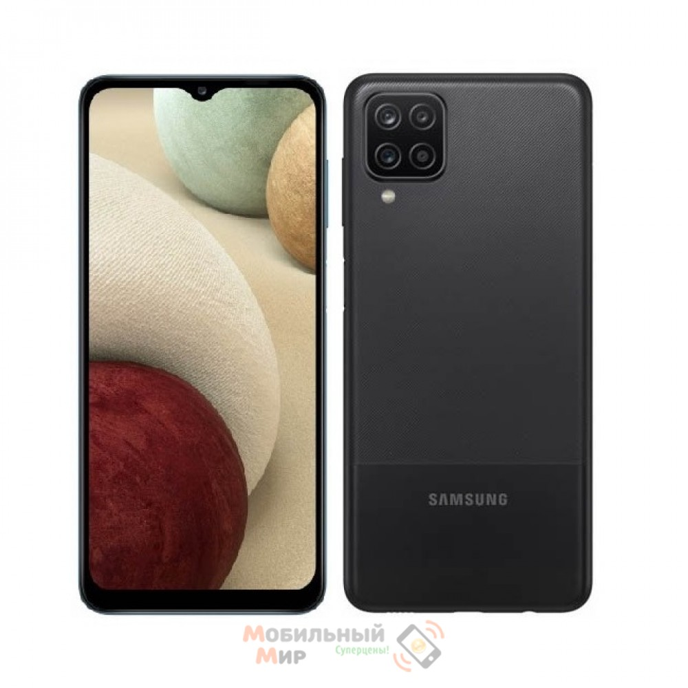 Смартфон Samsung Galaxy A12 3/32GB Black (SM-A125FZKUSEK)