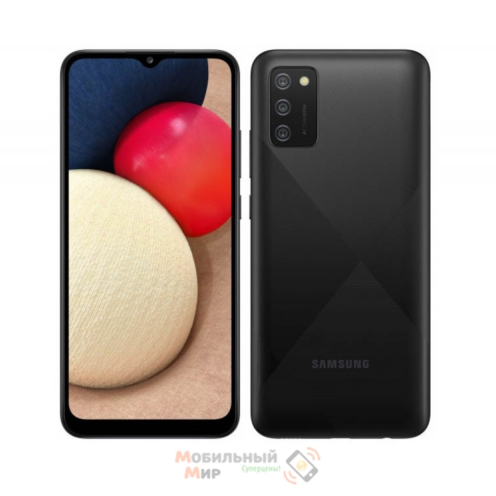 Смартфон Samsung Galaxy A02s 3/32GB Black (SM-A025FZKESEK)